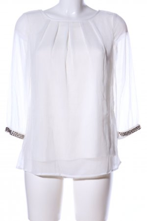 Bodyflirt Slip-over Blouse white casual look