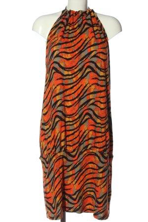 Bodyflirt Sukienka bez ramiączek Abstrakcyjny wzór Elegancki