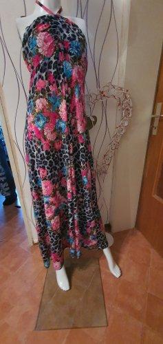 BODY FLIRT Maxi-jurk roze-lichtblauw