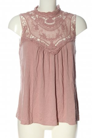 Bodyflirt Blusa in merletto rosa stile casual