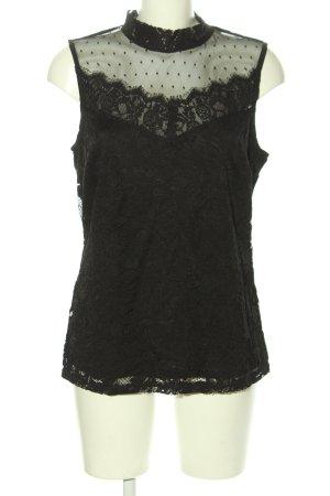 Bodyflirt Blusa in merletto nero stile casual
