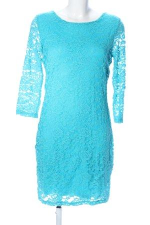 Bodyflirt Spitzenkleid blau Elegant