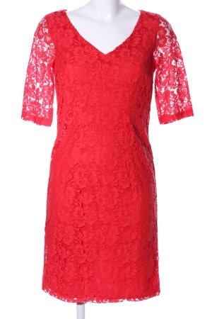 Bodyflirt Spitzenkleid rot Elegant