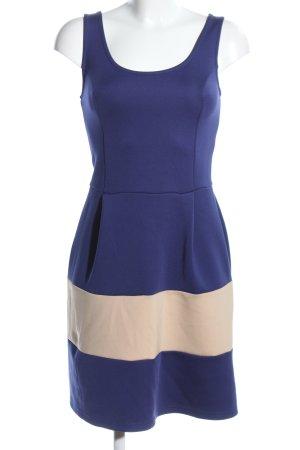 Bodyflirt Abito elasticizzato blu-crema stile casual