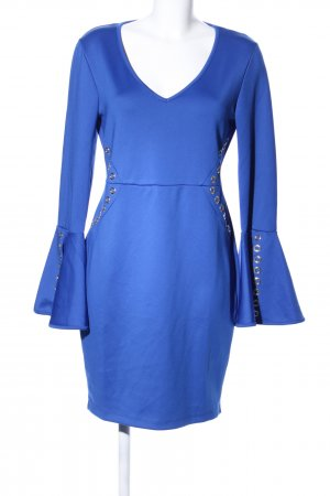 Bodyflirt Stretch jurk blauw casual uitstraling