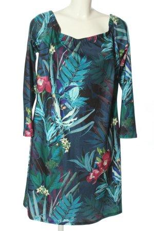 Bodyflirt Stretch jurk bloemenprint casual uitstraling