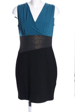 Bodyflirt Abito elasticizzato blu-nero stile casual