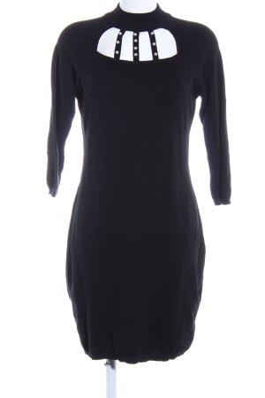 Bodyflirt Strickkleid schwarz Elegant