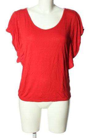 Bodyflirt T-shirt rosso stile casual
