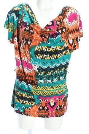 Bodyflirt T-Shirt abstraktes Muster Casual-Look