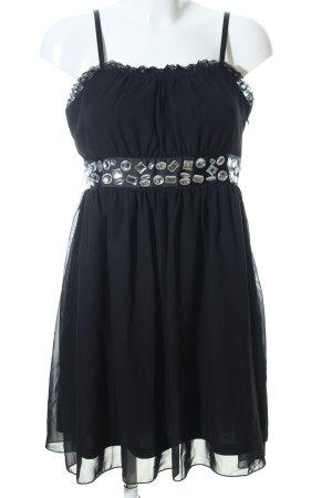 Bodyflirt Trägerkleid schwarz Elegant