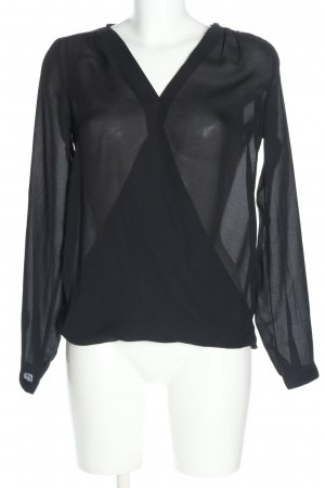 Bodyflirt Blusa trasparente nero stile casual
