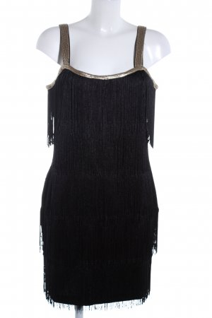 Bodyflirt Tunic Dress black-gold-colored elegant