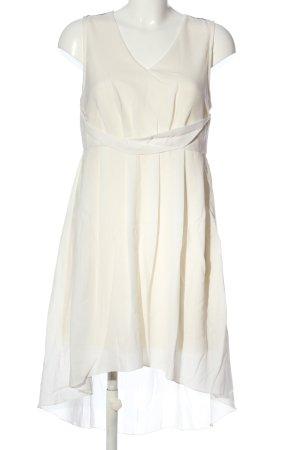 Bodyflirt Robe bas asymétrique blanc-noir élégant