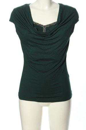 Bodyflirt Koszulka z dekoltem woda zielony W stylu casual