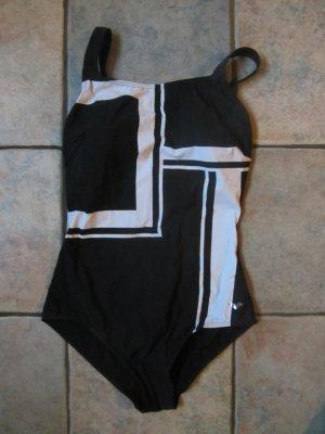 Arena Maillot de bain noir-blanc tissu mixte