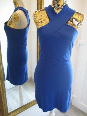 Bodyicon Strechkleid Royalblau Gr M Vero Moda