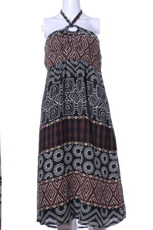 Bodyright Halter Dress allover print casual look
