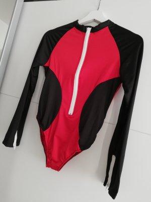 Bodysuit mit Reißverschluss Body