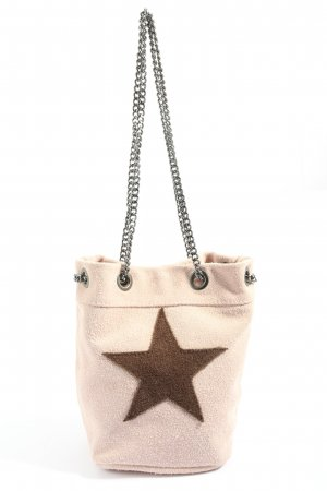 Börse in Pelle Pouch Bag cream-brown casual look