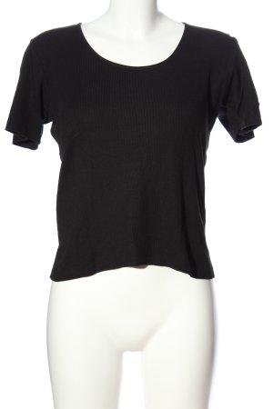 boglietti T-Shirt schwarz Casual-Look
