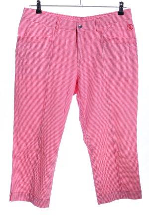 Bogner 3/4-Hose pink Allover-Druck Casual-Look