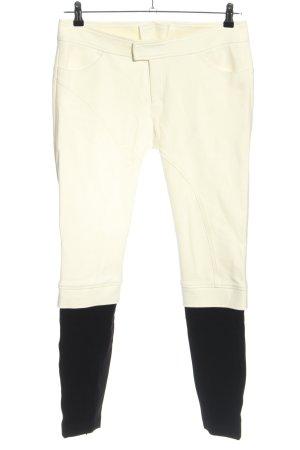 Bogner 7/8 Length Trousers cream-black casual look