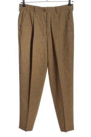 Bogner Spodnie garniturowe brązowy Melanżowy W stylu biznesowym