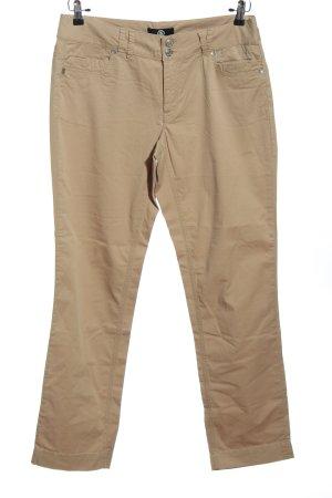 Bogner Pantalon «Baggy» brun style décontracté