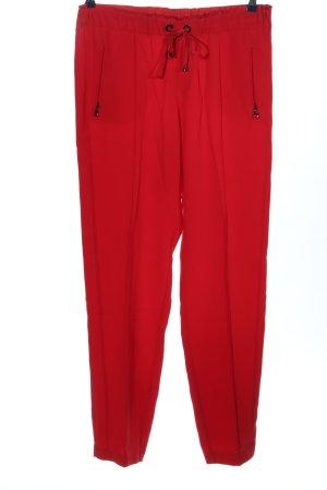 Bogner Luźne spodnie czerwony W stylu casual