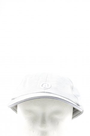Bogner Baseball Cap light grey flecked casual look