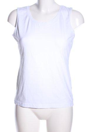 Bogner Top basic bianco stile casual