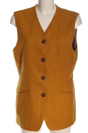 Bogner Herenvest licht Oranje volledige print zakelijke stijl