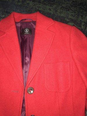 Bogner Wool Blazer carmine-brick red new wool