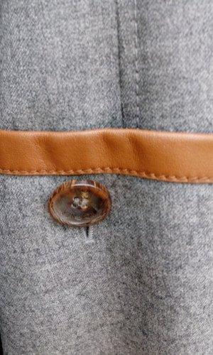 Bogner Blazer de lana gris-marrón claro
