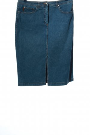 Bogner Pencil Skirt blue casual look