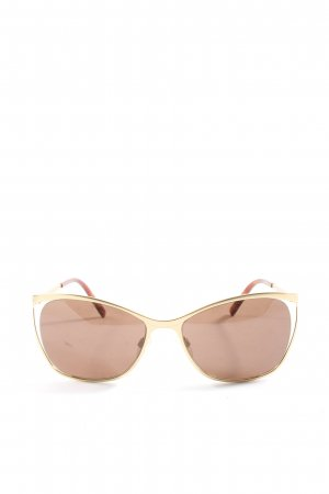Bogner Gafas color oro look casual