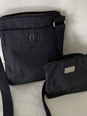 Bogner Crossbody bag black mixture fibre