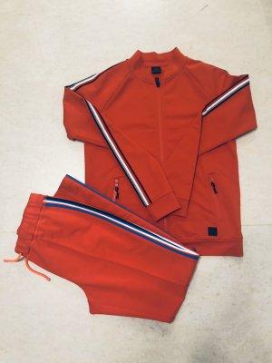 Bogner Jersey twin set rood