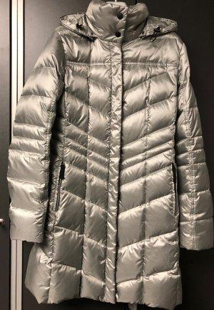 Bogner Abrigo de plumón color plata poliamida