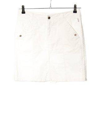 Bogner Fire + Ice Spódnica militarna biały W stylu casual