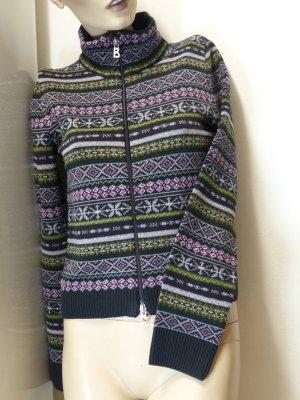 Bogner Fire + Ice Veste en tricot multicolore coton