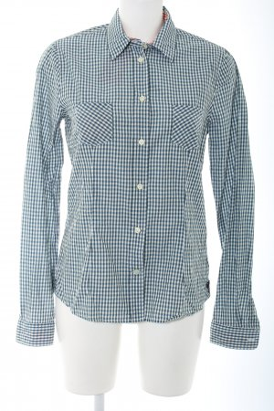 Bogner Fire + Ice Long Sleeve Shirt blue allover print casual look