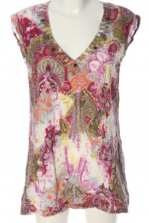 Bogner Fire + Ice Lange blouse abstract patroon casual uitstraling