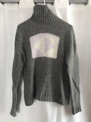 Bogner Fire + Ice Sweter z golfem jasnoszary
