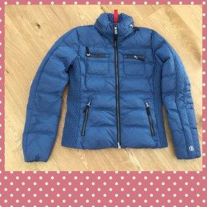 Bogner Fire + Ice Kurtka zimowa stalowy niebieski-chabrowy