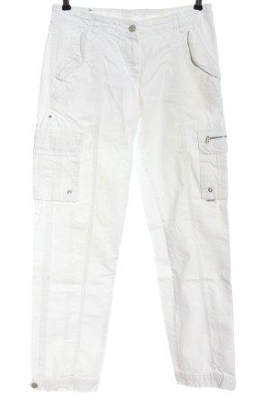 Bogner Fire + Ice Spodnie materiałowe biały W stylu casual