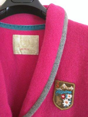 Bogner Fire + Ice Trachtenjacke pink-hellgrau meliert Casual-Look