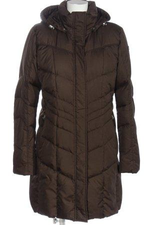Bogner Fire + Ice Veste d'hiver brun motif de courtepointe style décontracté