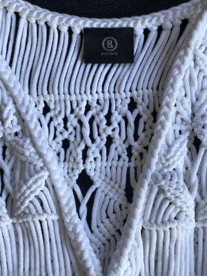 Bogner Veste à franges blanc